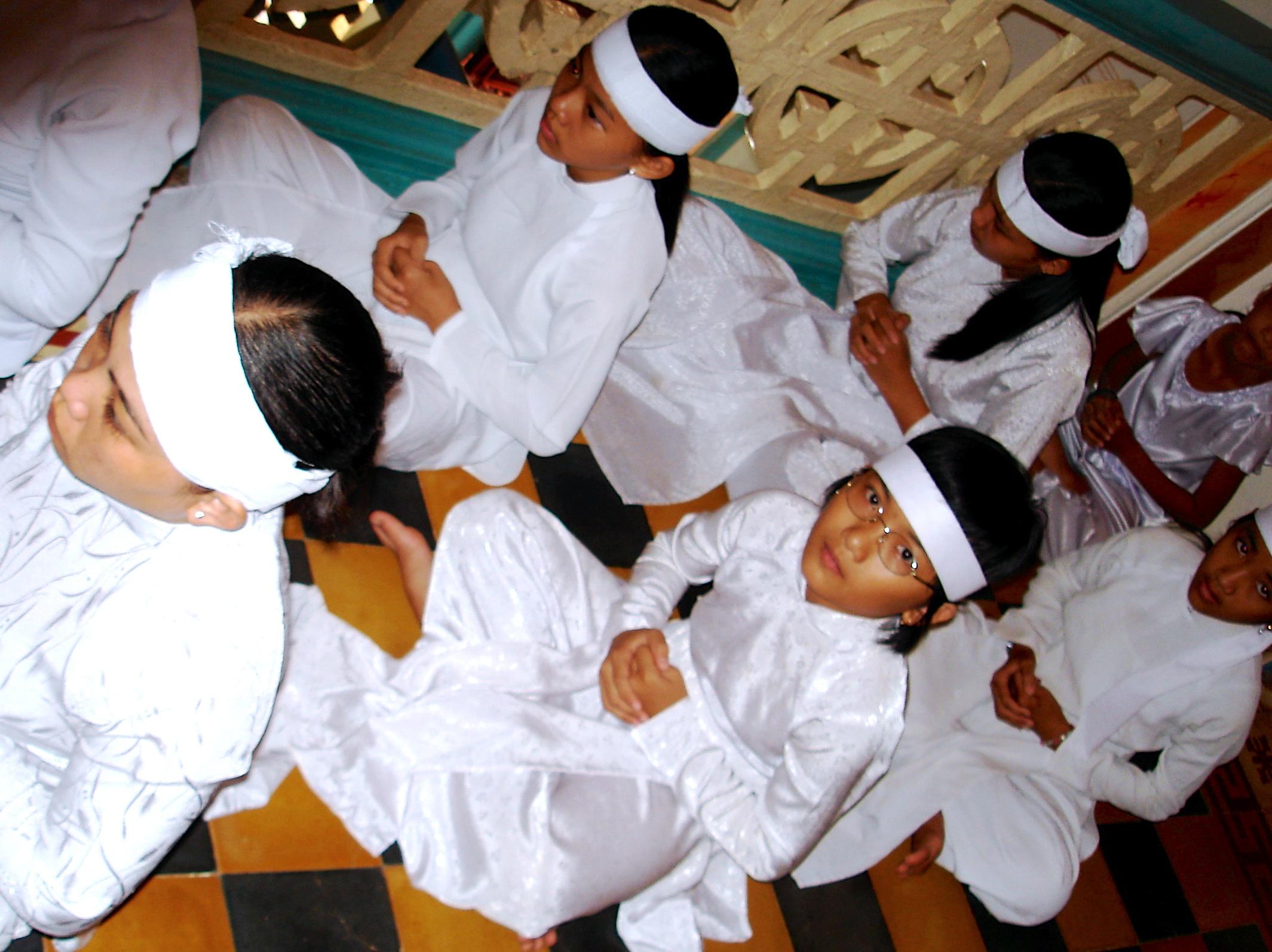 Templiers enfants